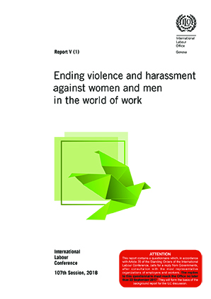 Ending Violence and Harassment against Women and Men in the Work World report